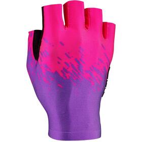 Supacaz SupaG Kurzfinger-Handschuhe neon purple/neon pink